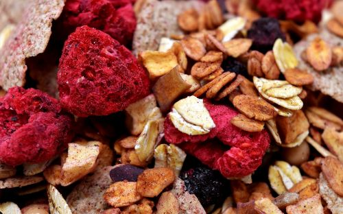 muesli healthy food