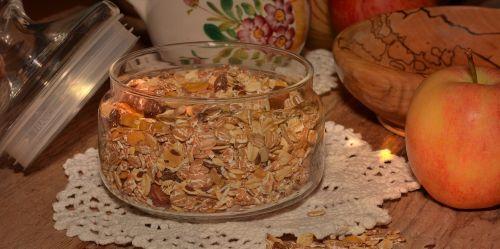 muesli healthy breakfast cereal