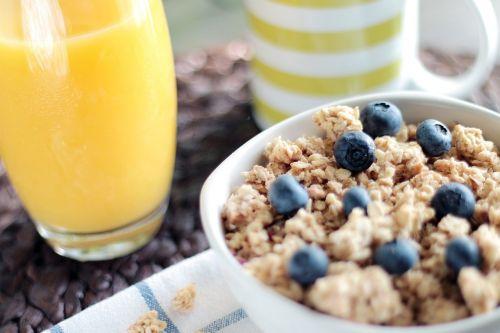 muesli granola cereal