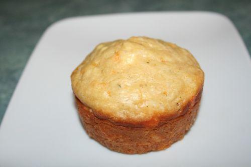 muffin apple cheddar
