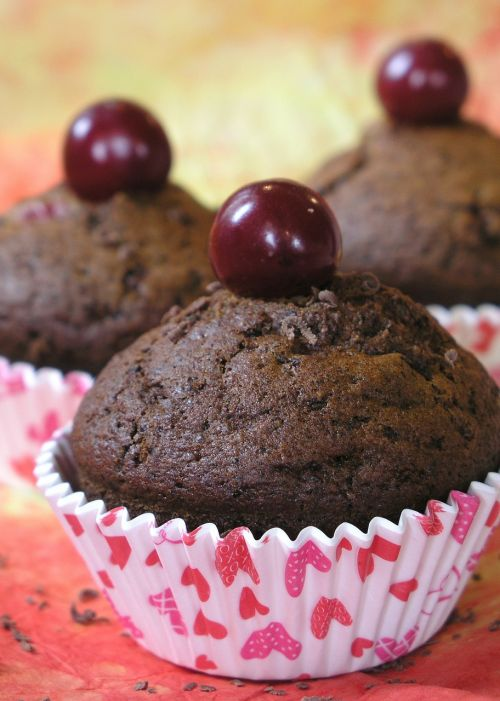 muffin cake cookie