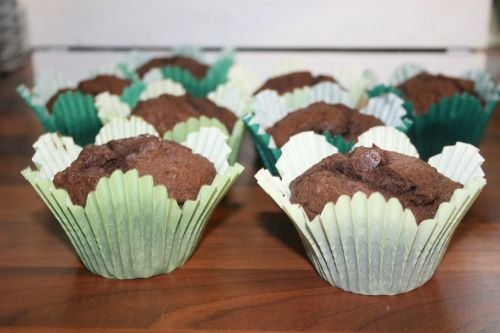 muffins chocolate home baking