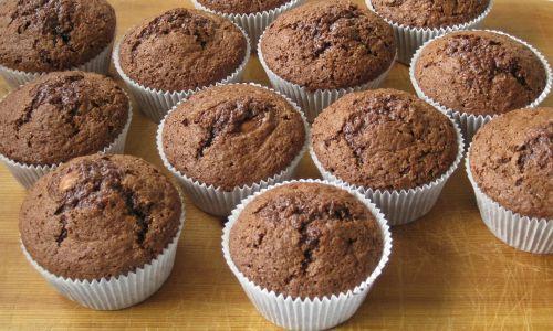 muffins chocolate pastries