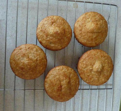 muffins bread food