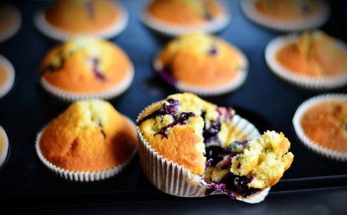 muffins  blueberry muffins  cake
