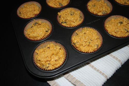 muffins pumpkin baking