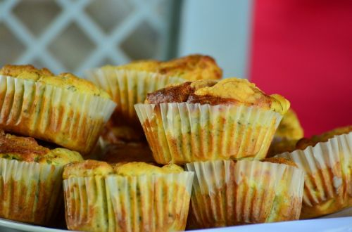 muffins pastries small cakes