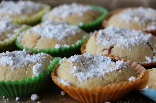 muffins bake delicious
