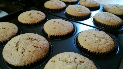 Muffins Fresh From Oven