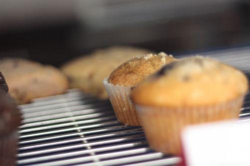 Muffins On A Store Shelf