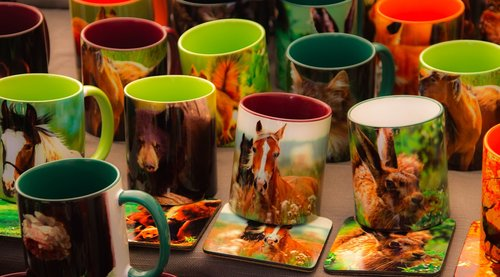 mug  images of animals  tableware