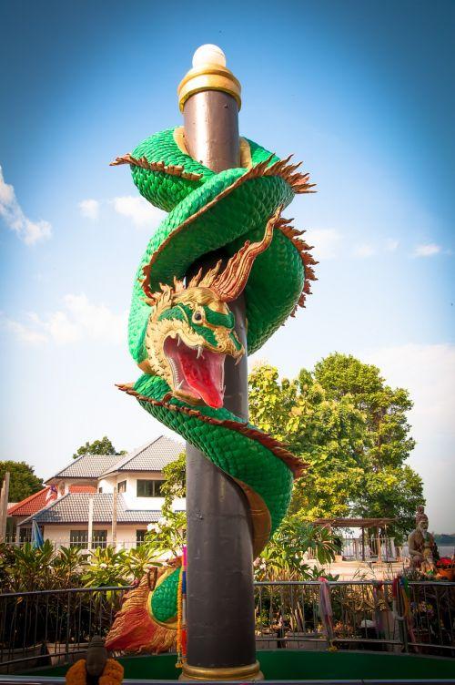 mukdahan thailand serpent