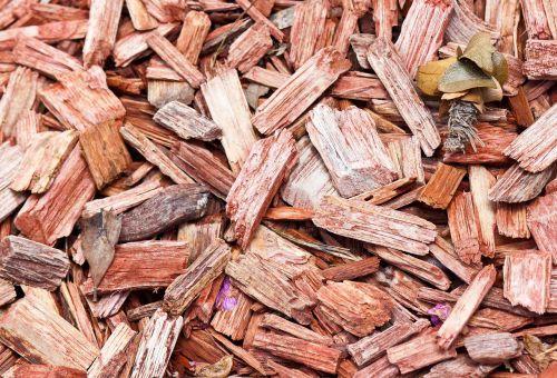 mulch texture wood