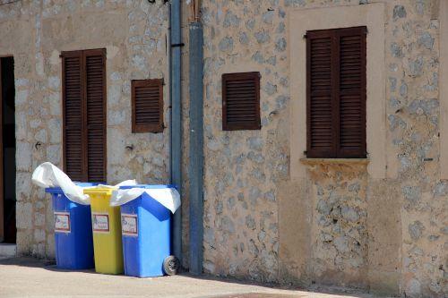 mülltonnen waste separation disposal