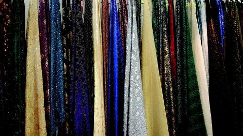 multi color fabrics