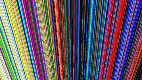 Multi-Colored Lines