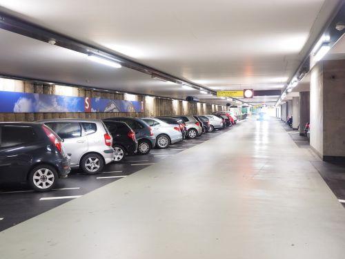 multi storey car park parking park level