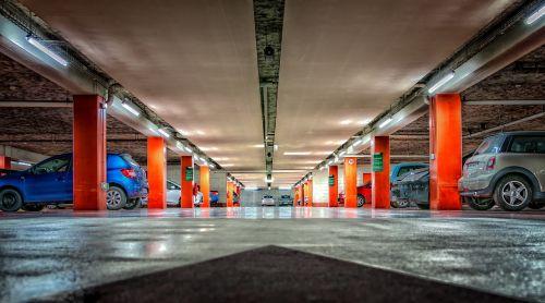 multi storey car park underground car park park