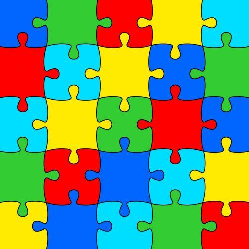 Multicolor Jigsaw