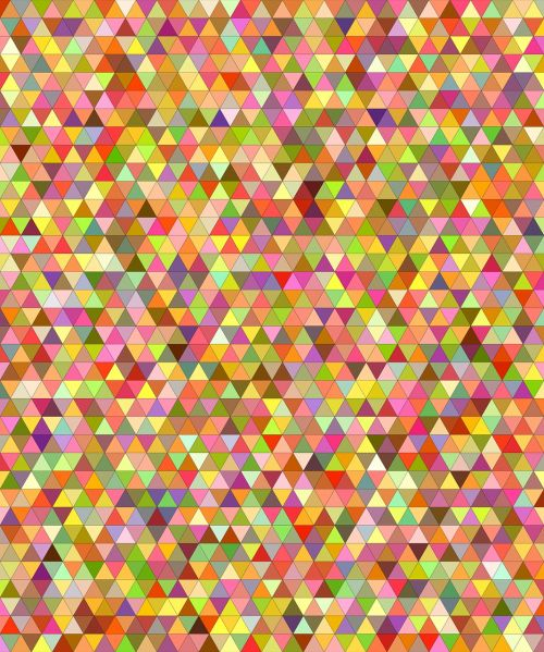 multicolored colorful triangle