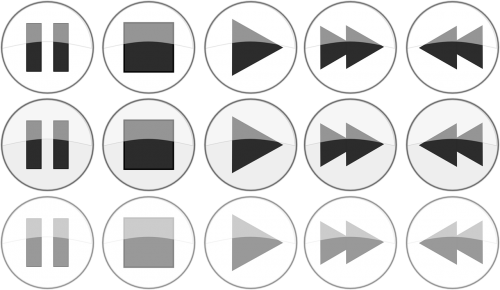 multimedia buttons player