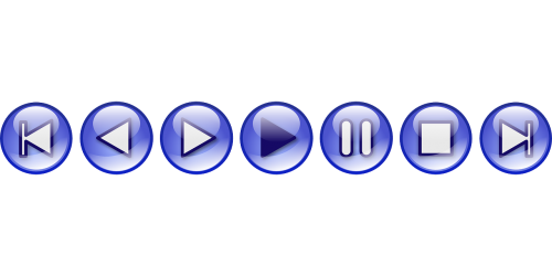 multimedia controls buttons