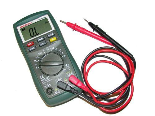 multimeter ohm meter voltmeter