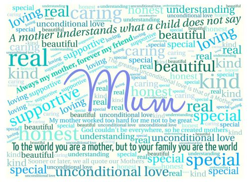 mum mother mother's day