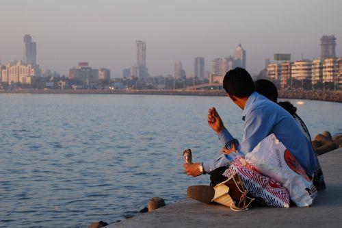 mumbai seafront asia