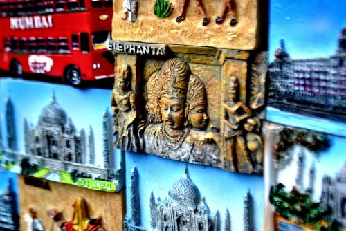 mumbai market wall