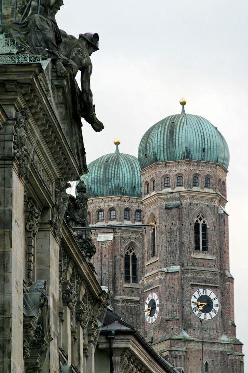 munich church church steeples