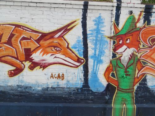 munich graffiti fuchs