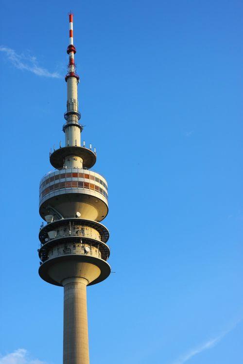 munich tv tower architecture