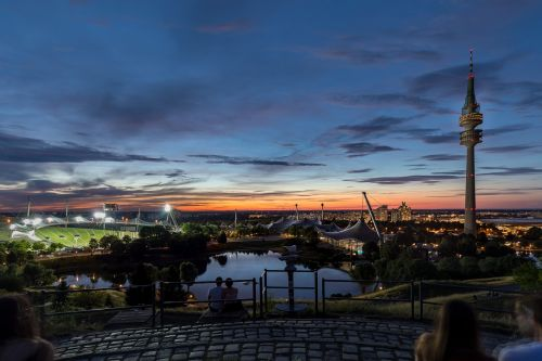 munich olympic stadium olympic park