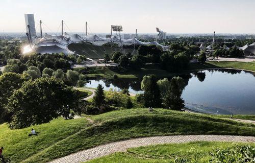munich olympic park olympic stadium