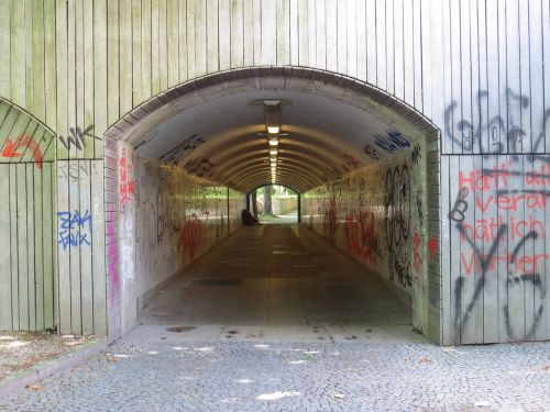 munich underpass tunnel