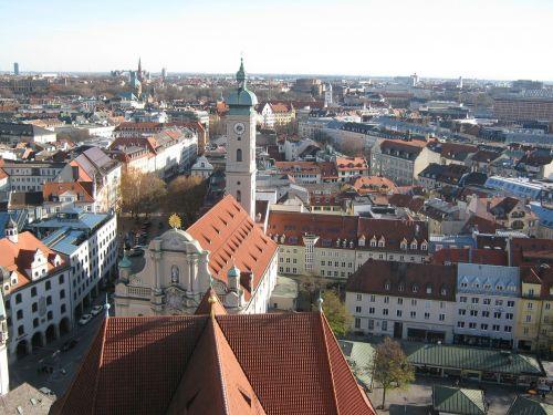 munich church towers