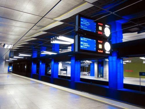 munich metro tube