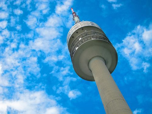 munich olympia tower tv tower