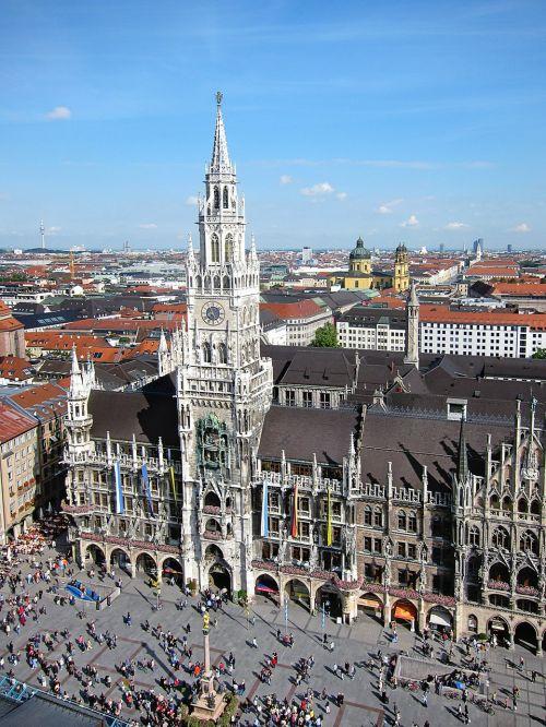 munich marienplatz state capital
