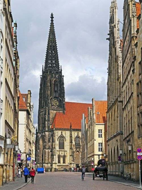 münster principal market lamberti church