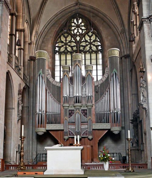 münster dom main organ