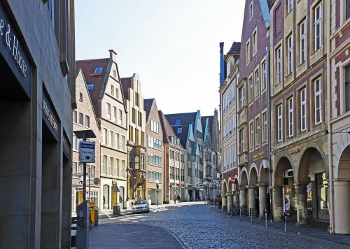 münster westfalen old town