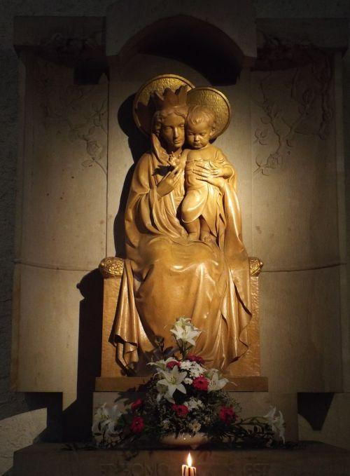 münsterschwarzach abbey madonna prayer