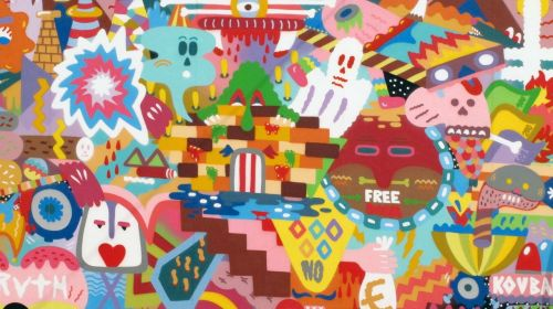mural graffiti mural painting