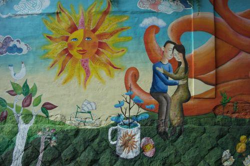 mural korean murals daehakro