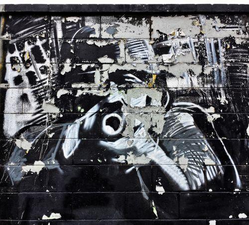 mural graffiti lake dusia