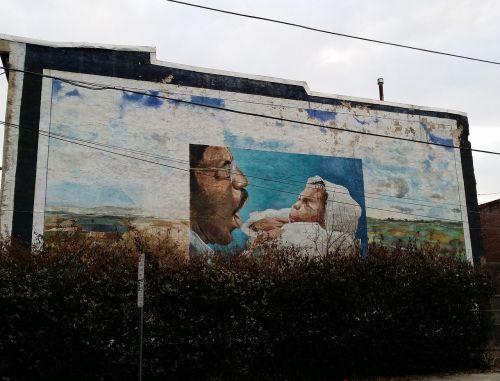 mural decoration street art