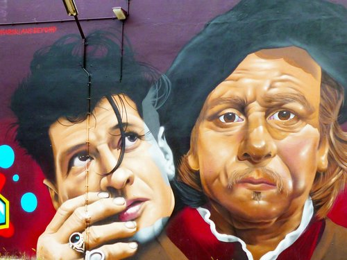 mural  amsterdam  rembrandt