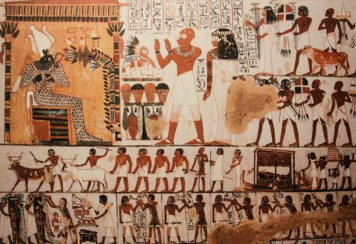 mural egypt pharaonic
